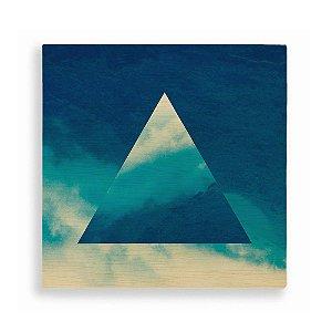 Quadro de Madeira - Geometric Sky