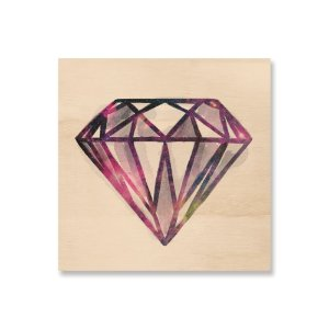 Print - Space Diamond - Pink