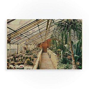 Quadro de Madeira - Green House