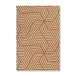 Quadro de Madeira - Geometric Pattern Snorkel Madeira