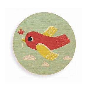 Quadro de Madeira - O Pássaro
