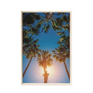 Quadro de Madeira - Palm Trees