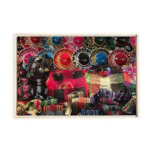 Quadro de Madeira - Color Mexico I