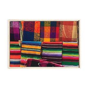 Quadro de Madeira - Color Mexico II