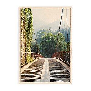 Quadro de Madeira - Sapa Vietnam