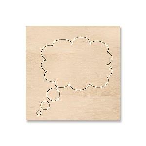 Print - Balão Diálogo Pensamento