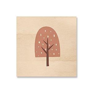 MooMoo - Árvore Sorvete Rosa Antigo