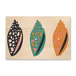 MooMoo - Quadro Conchas