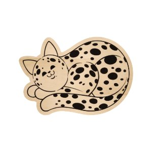 Silhouette de Madeira - Gato Bola