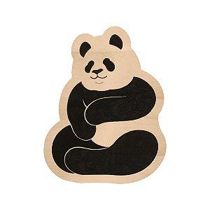 Silhouette de Madeira - Panda Abraço