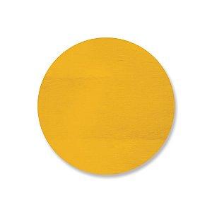 Print - Redondo Cor Amarelo