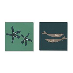 Kit MooMoo - Estrelas e Sardinhas