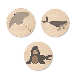 Kit MooMoo - Animais do Mar