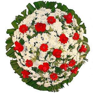 E - Coroa de Flores Condolências