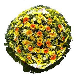 D - Coroa de Flores Saudosa