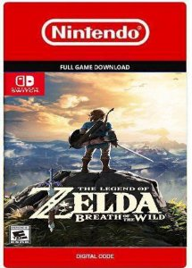 THE LEGEND OF ZELDA BREATH OF THE WILD NINTENDO SWITCH DIGITAL CÓDIGO  ESHOP