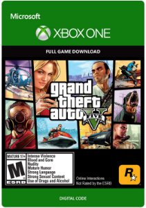 Gta 5  Grand Theft Auto V Xbox One Mídia Digital