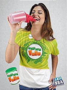 Camiseta Impressão Meia Folha