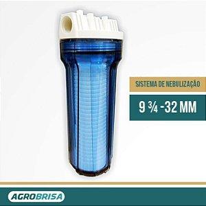 Filtro de Água Para Sistema de Nebulização