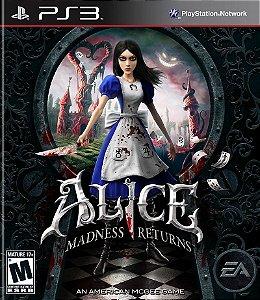 Alice Madness Returns PS3 PSN MÍDIA DIGITAL