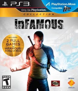 Infamous Collection 1 e 2 PS3 PSN Mídia Digital