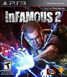 Infamous 2 PS3 PSN Mídia Digital Promoção
