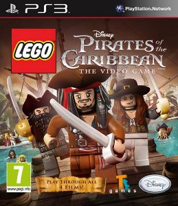 Lego Piratas do Caribe PS3 PSN Mídia Digital