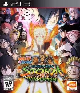 Naruto Shippuden Ultimate Ninja Storm Revolution PS3 PSN Mídia Digital