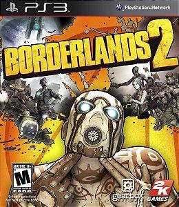 Borderlands 2 PS3 PSN Mídia Digital
