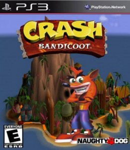 Crash Bandicoot PS3 PSN Mídia Digital