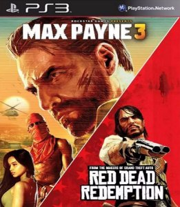 Max Payne 3 + Red Dead Redemption PS3 PSN Mídia Digital