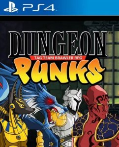 Dungeon Punks PS4 PSN Mídia  Digital