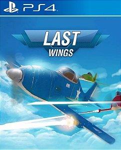 Last Wings PS4 PSN Mídia Digital