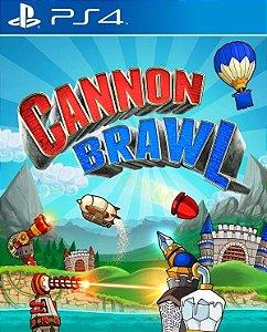 Cannon Brawl PS4 PSN Mídia Digital