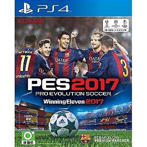 Pes Pro Evolution Soccer 2017 PS4  PSN Mídia Digital