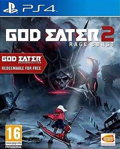 God Eater 2: Rage Burst PS4 PSN Mídia Digital