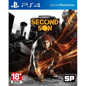 Infamous Second Son PS4 PSN Mídia Digital