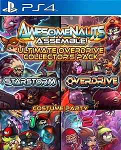 Awesomenauts Assemble! Collector's Pack PS4 PSN Mídia Digital