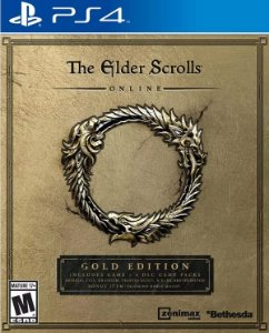 The Elder Scrolls Online Gold Edition PS4  PSN Mídia Digital