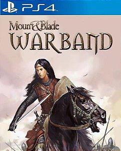 Mount & Blade: Warband PS4 PSN Mídia Digital