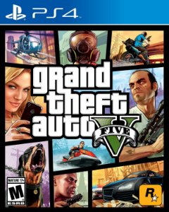 Gta 5 V Ps4 Grand Theft Auto PSN Mídia Digital