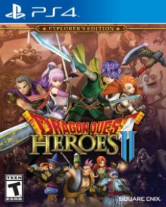 Dragon Quest Heroes Ii Explorer's PS4 PSN Mídia Digital