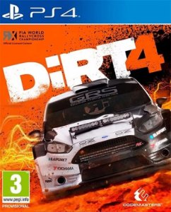 Dirt 4 PS4 PSN Mídia Digital