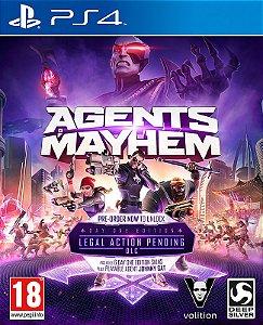 Agents of Mayhem PS4 PSN Mídia Digital