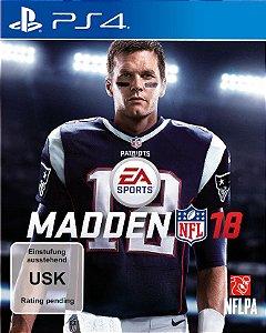 Madden NFL 18 PS4 PSN Mídia Digital