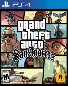 Grand Theft Auto San Andreas - GTA PS4 PSN Mídia Digital