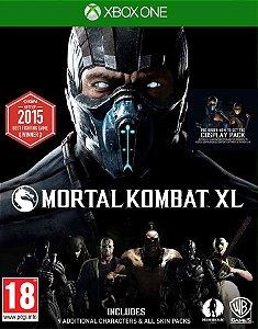 Mortal Kombat XL - Xbox One - Código de Resgate 25 Dígitos