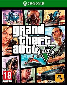 Grand Theft Auto V - GTA 5 Xbox One - Código de Resgate 25 Dígitos