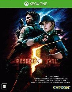 Resident Evil 5 - Xbox One Código de Resgate 25 Dígitos