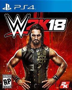 WWE 2K18 PS4 PSN Mídia Digital